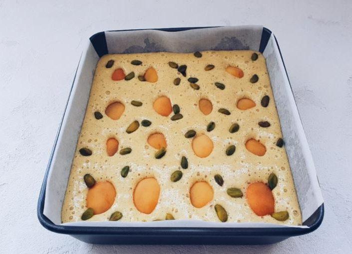 миндальный пирог 710а