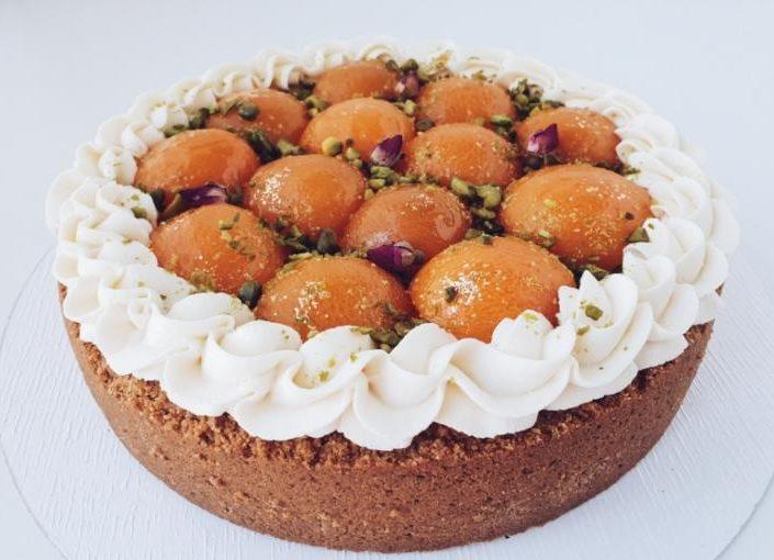 пирог абрикосовый 710
