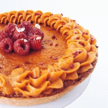 пирог облепиха манго 750