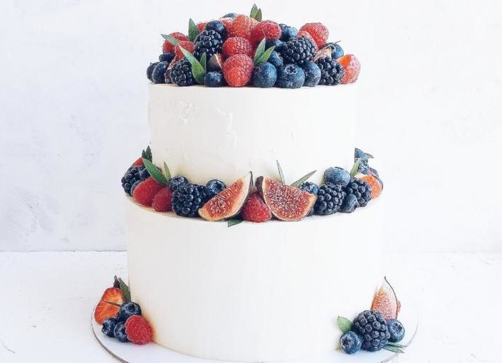 торт свадьба 710б