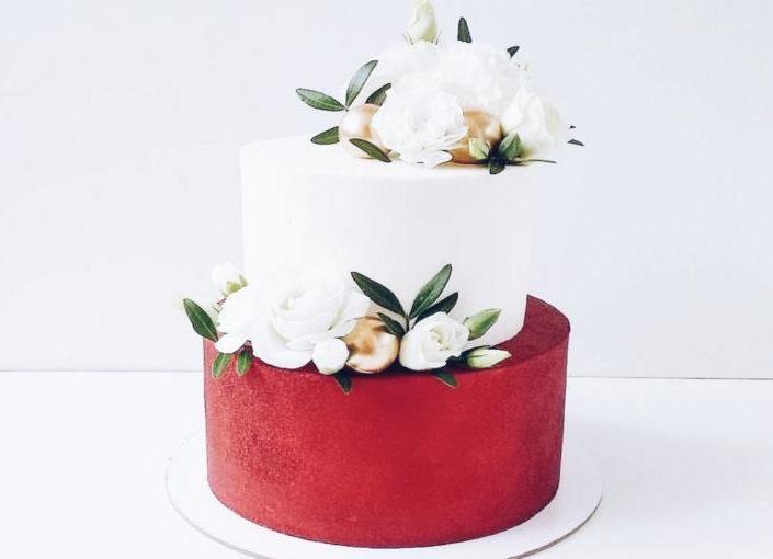 торт свадьба 710я